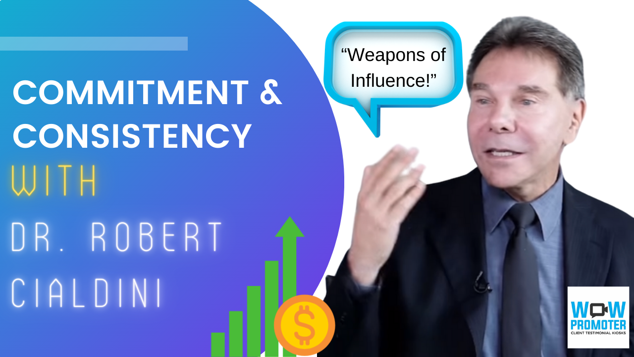 Dr. Robert Cialdini discusses the Commitment Rule