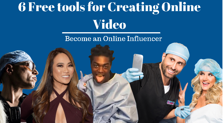 6 free tools for creating online video